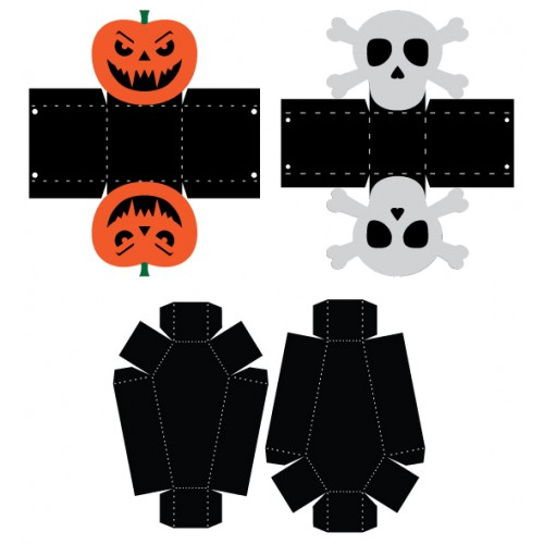 Halloween Treat Bags & Boxes