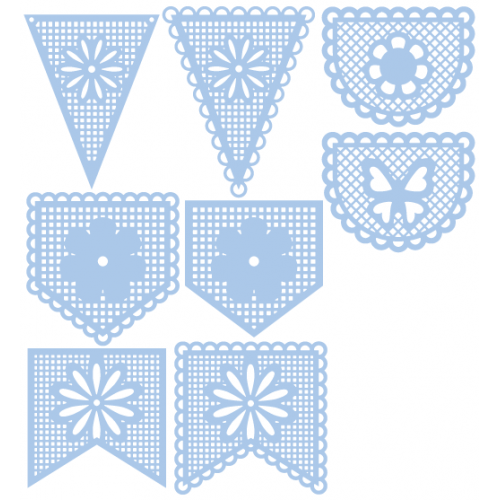 Lacey Pennants