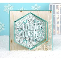 Winter Wishes Lever Card