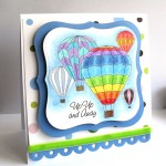 Balloon Race Card