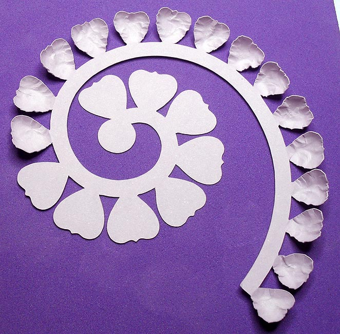 Rolled flower tutorial for Rolled paper roses template