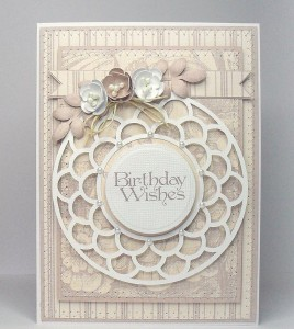 best wishes dec circle 2 card