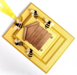 bee hive card 1