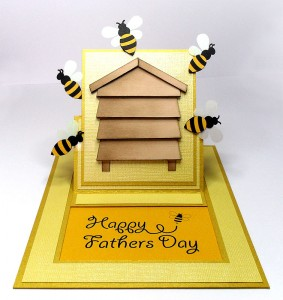 bee hive card 2