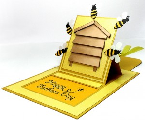 bee hive card 3