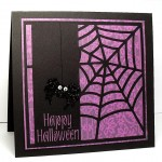 spider web background card