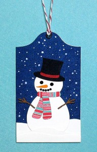 Snowman Tag