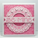 heart doily 2 card