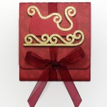 sleigh gift card holder