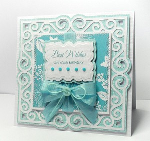Swirly Frame 7 card