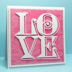 love cube card