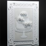 wedding cake & stand card 7