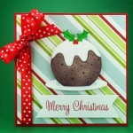 Christmas Pudding Card